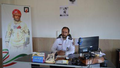 رئیس مرکز آتش نشانی فیروزکوه