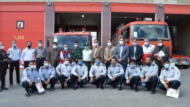 آتش نشانان فیروزکوه