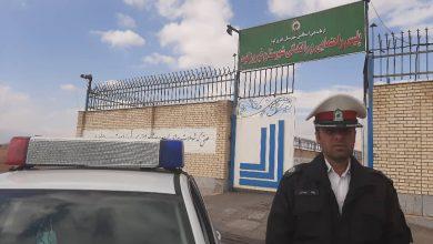 رییس پلیس راهنمایی و رانندگی شهرستان فیروزکو