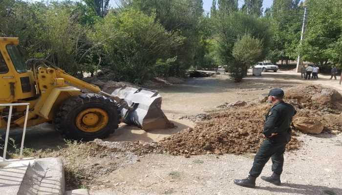 مدیر امور منابع آب فیروزکوه