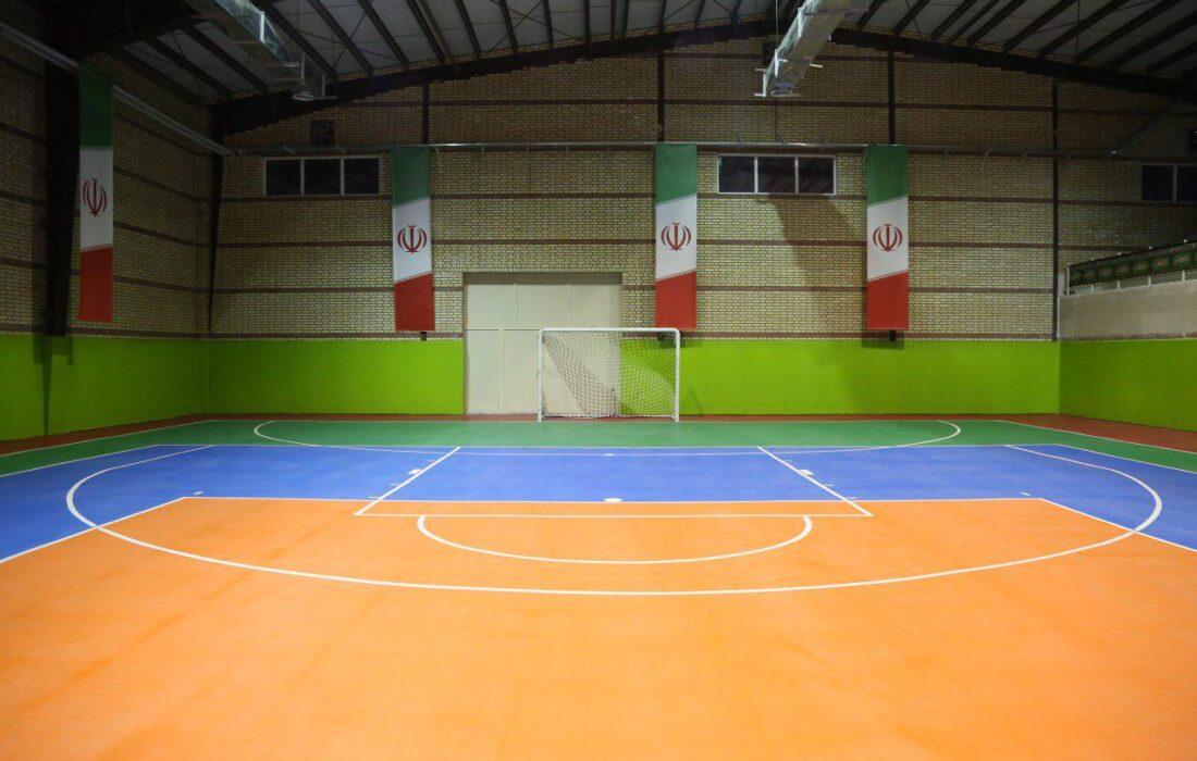 اماکن ورزشی شهرستان فیروزکوه