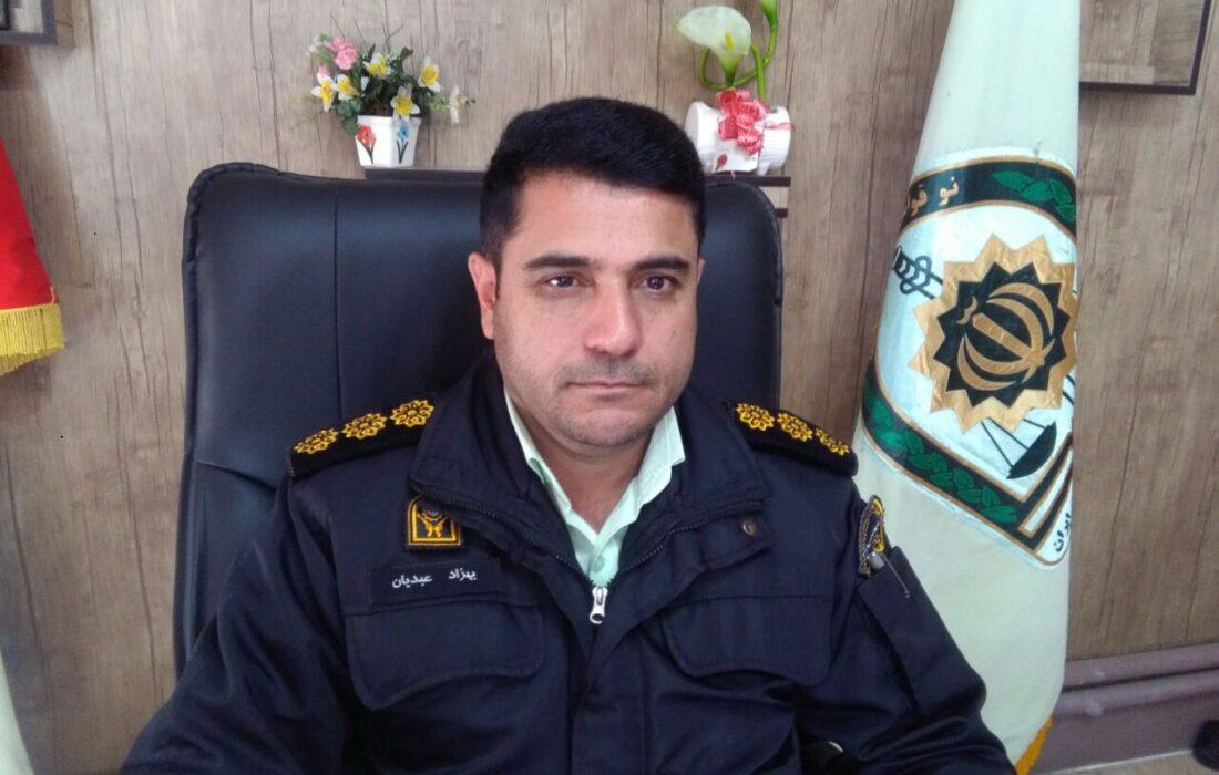 فرمانده انتظامی فیروزکوه