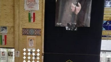 گلزار شهدای شهرستان فیروزکوه